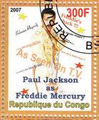 Paul jackson como mercurio de freddie — Foto de Stock