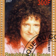 Постер, плакат: Brian May from music group Queen