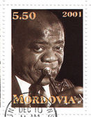 Louis Armstrong — Stock Photo