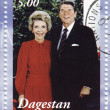 Ronald Reagan with wife - Stock Photo