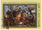 Rubens's pic - Carters of stones — Stock Photo