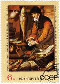 Pic di piter piters - venditrice di pesce — Foto Stock