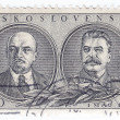Постер, плакат: Lenin L and Stalin Russian Communist Leaders
