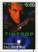 Jean-Claude Van Damme in Timecop film — Stock Photo