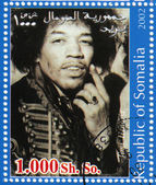 Jimi Hendrix — Stock Photo