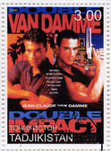 Jean-Claude Van Damme in Double Impact film — Stock Photo