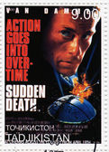 Jean-Claude Van Damme in the Sudden Death — Stock Photo
