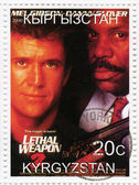 Mel Gibson and Danny Glover — Stock Photo