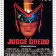 Sylvester Stallone in Judge Dredd — Stock Photo
