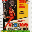 Постер, плакат: Sean Сonnery and Ursula Andress in James Bond Agent 007 Doctor No