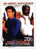 Mel Gibson , Danny Glover and Joe Pesci in The Lethal Weapon four — Stock Photo