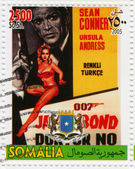 Sean Сonnery and Ursula Andress in James Bond Agent 007 Doctor No — Stockfoto