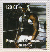 50 cent - Curtis James Jackson III American rapper — Stock Photo