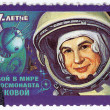 Stock Photo: ValentinTereshkovfirst womin space