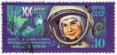 Valentina Tereshkova first woman in space — Stock Photo