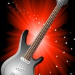 Royalty-Free Stock Vector Image: Vector background with guitar