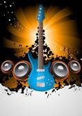 Vektor Hudba plakát — Stock vektor