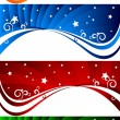 Vector set of abstract banners — Stock Vector