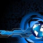 Vector abstract tech background — Stock Vector #3700682