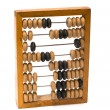 Wooden abacus. — Stock Photo