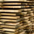 Stack of boards. — Stock Photo