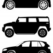 Cars vector set 2 — Stock Vector