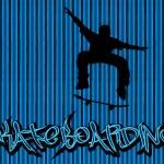 Skataboarding background — Stock Vector #3787101