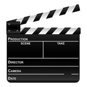 Film slate — Stock Vector