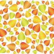 Stock Vector: Autumn leaf background 3