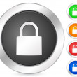 Computer icon padlock - Stock Vector