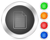 Computer icon document — Stock Vector