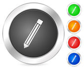 Computer icon pencil — Stock Vector