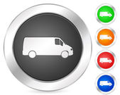 Computer icon truck — Stock Vector