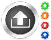 Computer icon upload — Stock Vector