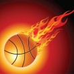 Fiery basketball ball — Stock Vector #3164959