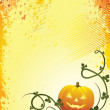 A Glowing Background for Halloween — Stock Vector