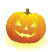 Vector halloween pumpkin — Vector de stock