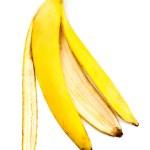 Banana skin — Stock Photo