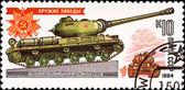 Heavy panzer IS-2 — Стоковое фото