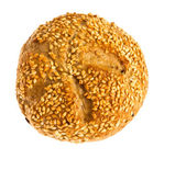 Bun with sesame seeds — Foto de Stock