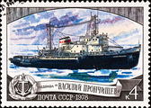 Icebreaker Basil Pronchishcev — Stock Photo
