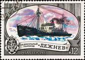 """Icebreaker """"Dezhnev"""" — Stock Photo"""