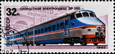 "Russian train ""ER-200"" — Stock Photo"