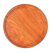 Wooden tray — Stock Photo