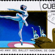 Cuban ballet anniversary — Stock Photo