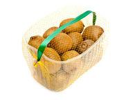 Kiwi basket — Stock Photo
