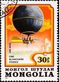 Air ballong blanchard frankrike — Stockfoto