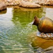 Stock Photo: Small fountain
