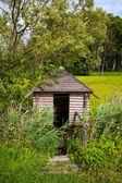 Cabina in legno — Foto Stock