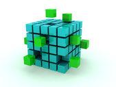 Куб — Стоковое фото